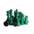 Zöld figurák