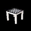 Sakkpalota asztalka - FEKETE