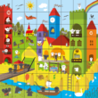 A teljes kép kirakva - Ovis Sakkpalota puzzle