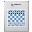 Mágneses sakkfigura készlet a demonstrációs táblán