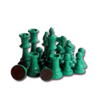 Színes sakkfigura készlet