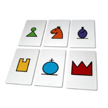 Sakkpalota egyszerű figurák