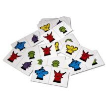 Sakkpalota bábszám matematika kártya - 2 figura