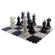 Nagy sakkfigura készlet és Puzzle sakk