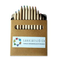 Sakkjátszótér színes ceruza készlet