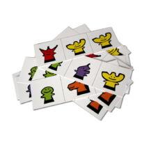 Sakkpalota bábszám matematika kártya csomag