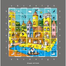 Sakkpalota évszakok - poszter