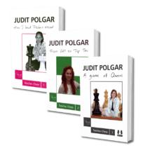 Judit Polgar Teaches Chess Trilogy by Judit Polgar