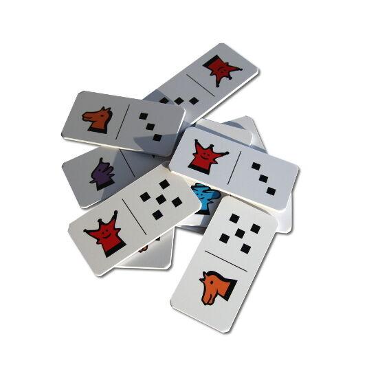 Asztali Sakkpalota dominó
