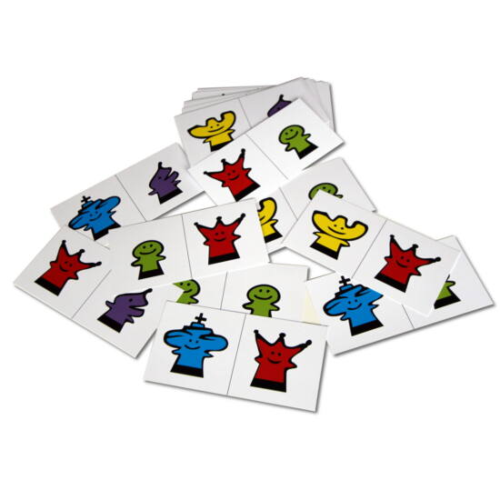 Sakkpalota kreatív kártya - 2 figura