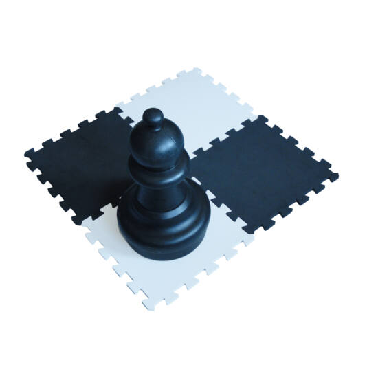 Óriás habszivacs sakktábla