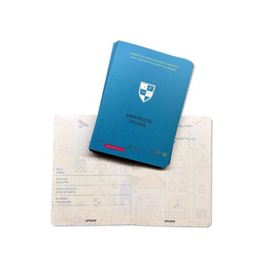 Sakkpalota útlevél 10-es csomag