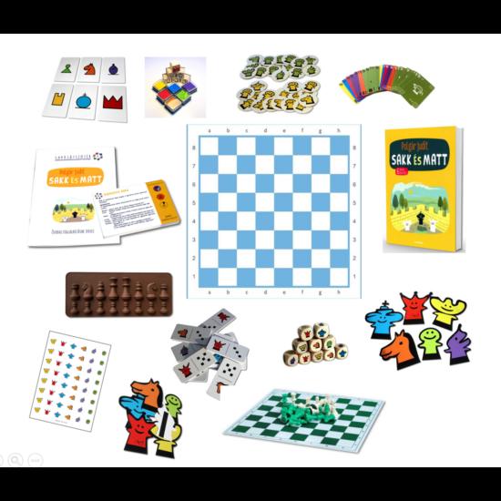 Sakkjátszótér Sakk-Matt Haladó csomag (03)