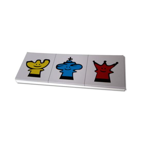 Sakkpalota kreatív kártya - 3 figura