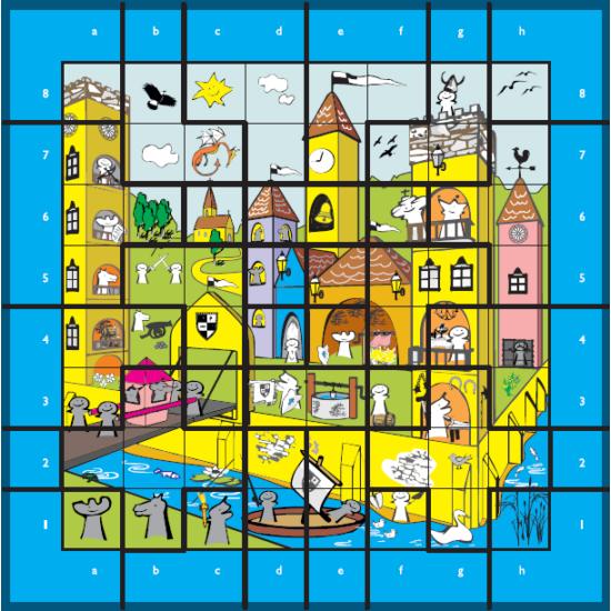 Sakkpalota puzzle (32 db-os)