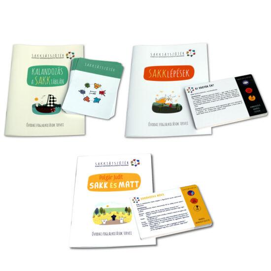 Óvodai foglalkozások tervei + Játékkártyák csomag (1-2-3.)
