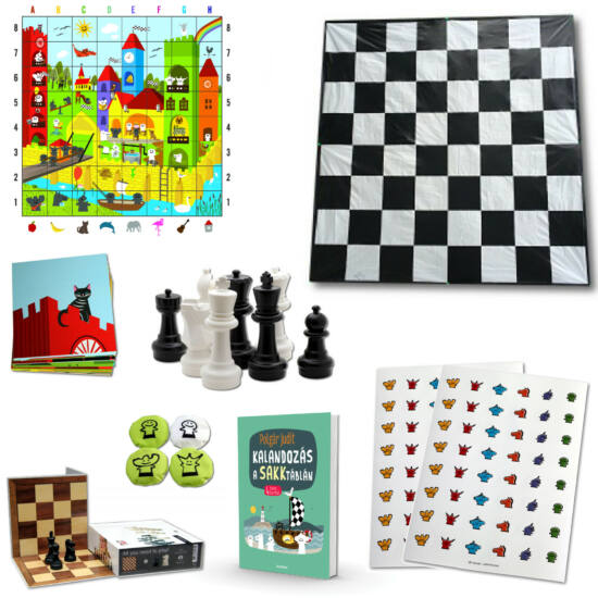 Sakkjátszótér óvodai alapcsomag