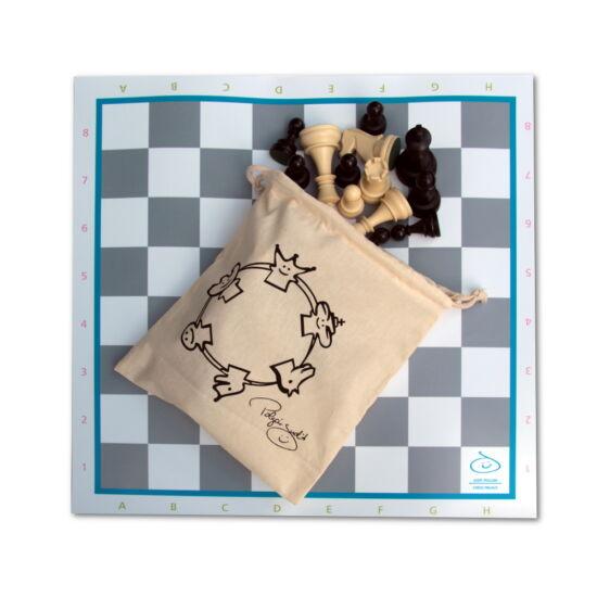 Sakkpalota sakk készlet szürke táblával