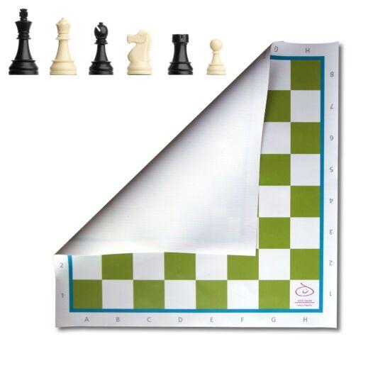 Sakkpalota sakk készlet zöld táblával