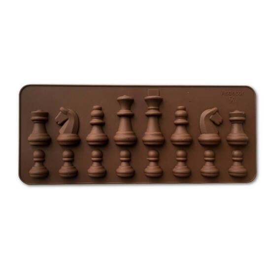 Szilikon sakkfigura forma