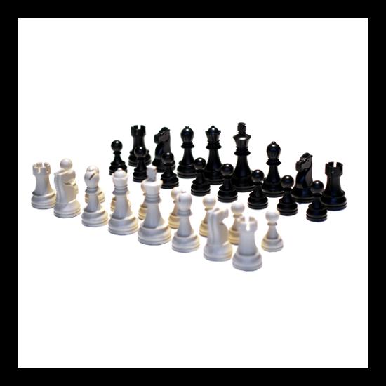 Polgár Judit sakkfigura iskolai csomag (8 készlet)